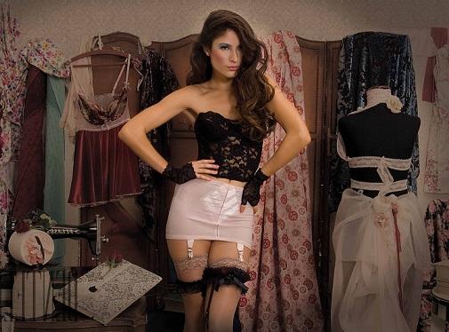 Фото чулочки юбки